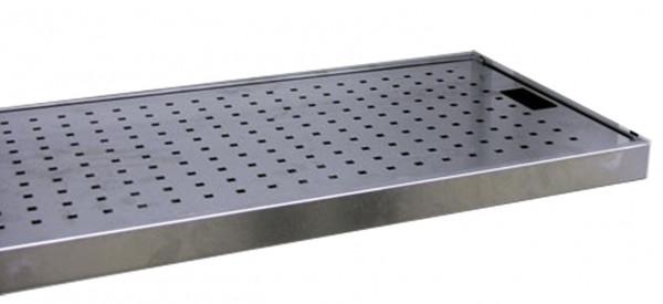 Beispiel Lochblecheinlage Q30 für Stahl-Kleingebindewanne Q30
