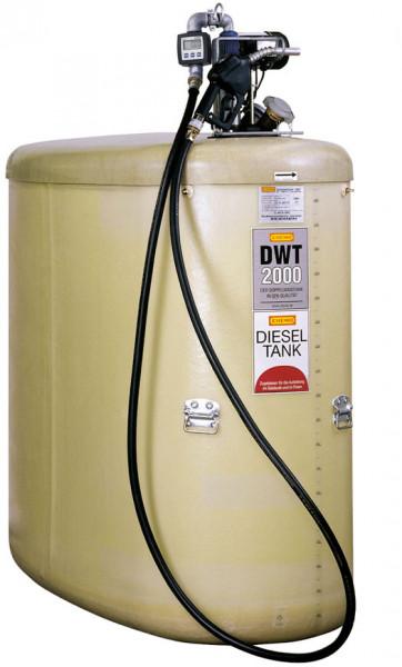 Dieseltankanlage DWT-Komplettstation ohne Pumpenhaube