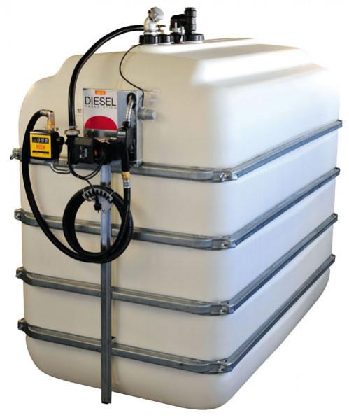 Diesel-Komplett-Tankanlage Indoor ohne Auffangwanne und Dach