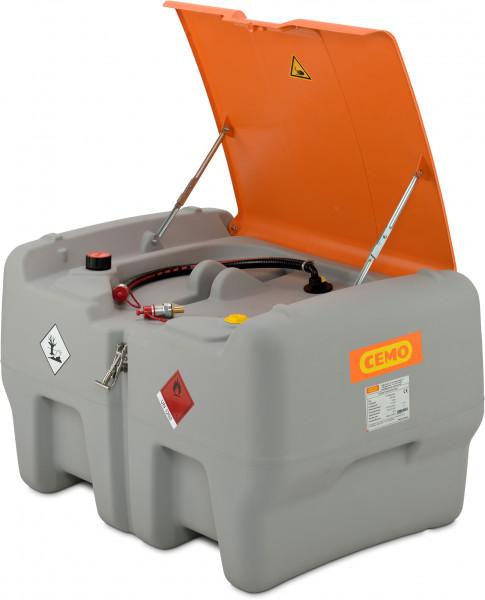 Cemo DT-Mobil Easy 440 Liter nach ADR mit Schnellkupplung und Klappdeckel