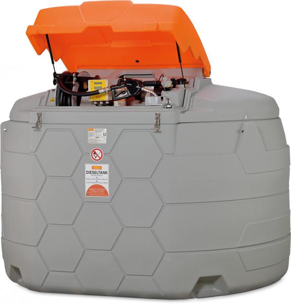 Beispiel Dieseltankstation CUBE-Tank 5000 Liter Outdoor Premium Plus 20 SIM mit Tankdatenverwaltungssystem »CMO20«
