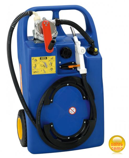 Trolley mit Kubelpumpe für AdBlue® (AUS32) Inhalt 60 Liter