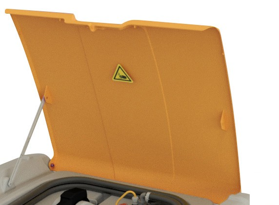 Klappdeckel für DT-Mobil Easy 440 Liter und COMBI 440/50 Liter