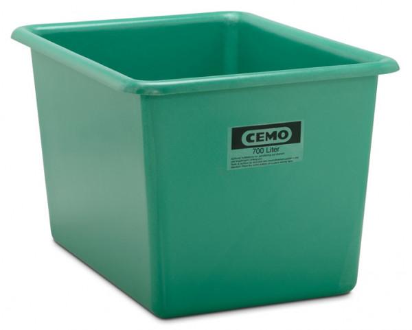 Rechteckbehälter aus GFK 700 Liter grün