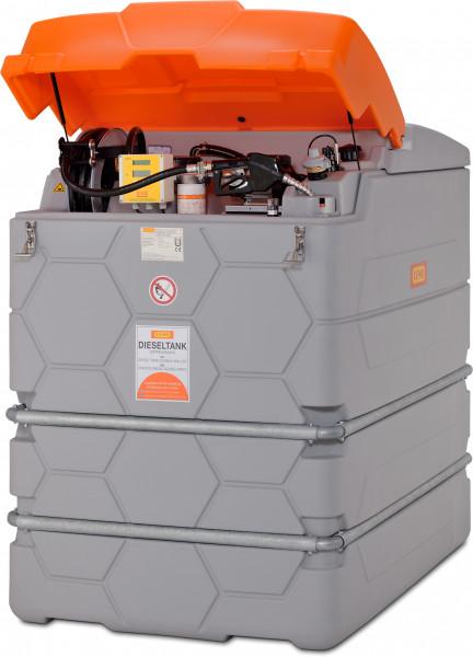 Dieseltankanlage CUBE 2500 Liter Outdoor Premium Plus mit Tankdatenverwaltungssystem CMO10 SIM