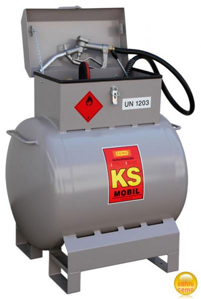 Benzintankanlage KS-Mobil 200 Liter mit Handpumpe
