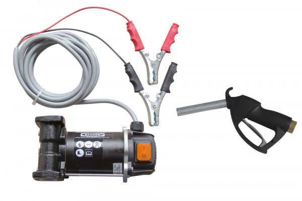 Diesel / Biodiesel-Elektropumpe Cematic 3000 mit 12 Volt und Batteriepolklemmen