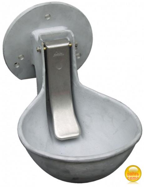 Tränkebecken mit Flansch für Auslauf DN100 – 2000-Liter-PE-Fass