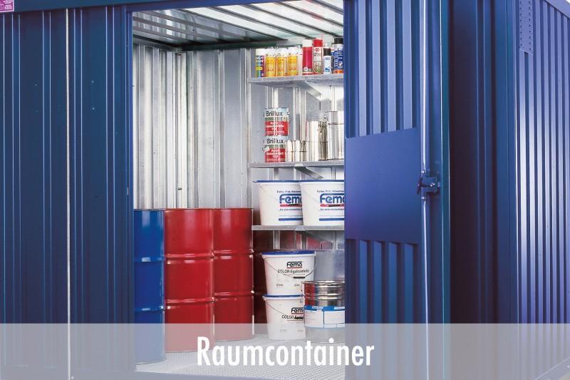 Raumcontainer und Sicherheitscontainer