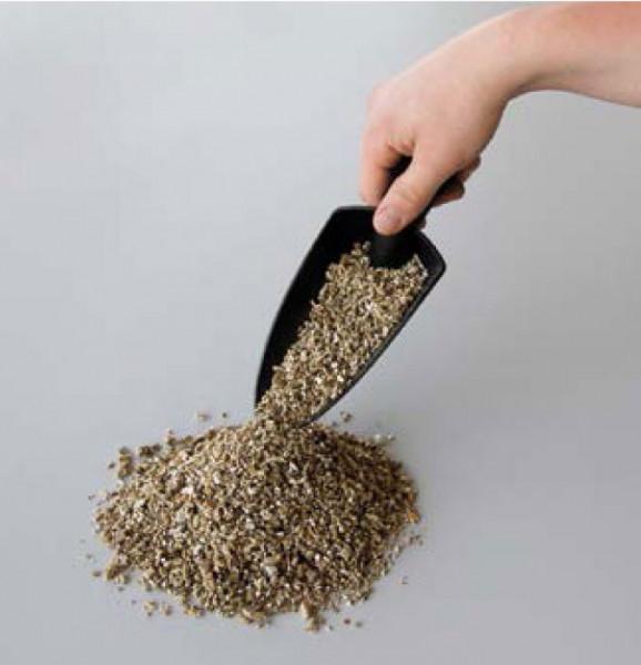 Vermiculite als Puffermaterial für Kunststoffsammelbehälter