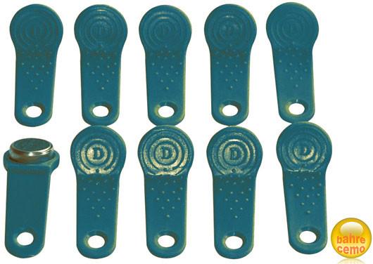 Benutzerschlüssel für Diesel-Zapfsäule, grün