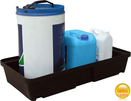 Beispiel PE-Auffangwanne 30 Liter ohne Rost