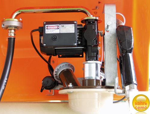 CEMO Elektropumpe, ca. 50 l/min, 230 V