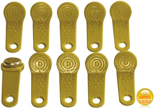 Benutzerschlüssel, inkl. Masterschlüssel, 10 Stück
