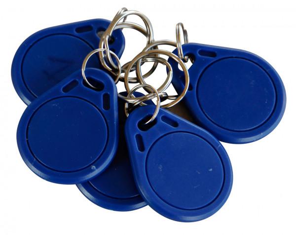 Schlüsselset zur Tankdatenverwaltung für CUBE-Diesltanks – 5 Stück