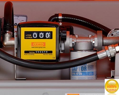 Abb. ähnlich: Zählwerk mechanisch 3-stellige komplett mit Filter und Wasserabscheider