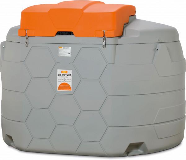 Diesel CUBE-Tank 5000 Liter Outdoor Erweiterungseinheit mit Klappdeckel
