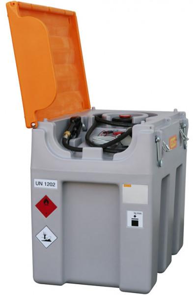 Beispiel DT-Mobil Easy 600 l mit Elektropumpe und Automatik-Zapfpistole – mobil Diesel tanken