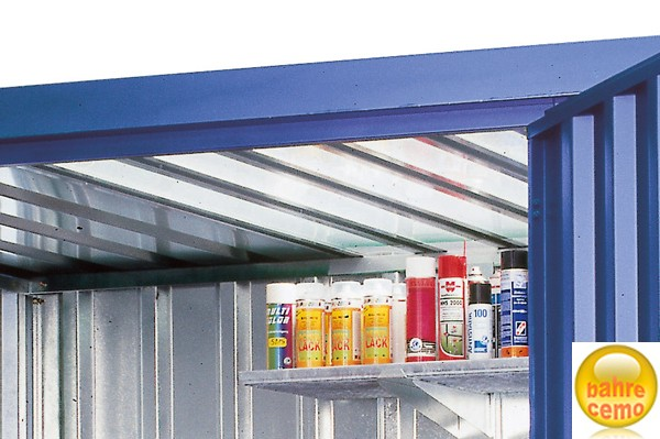 PVC-Lichtplatte für Raumcontainer