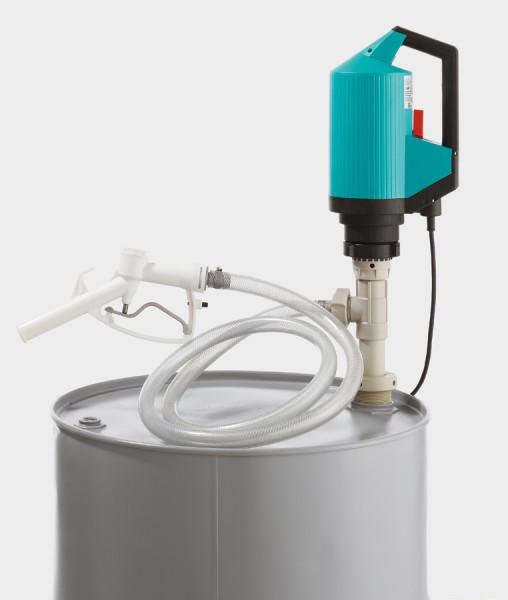 Cemo elektrische IBC- und Fasspumpe für Chemikalien – Basis-Set