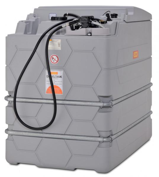 Cemo Indoor Basic Diesel-CUBE-Tank 1500 Liter – ohne Klappdeckel