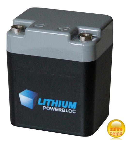 Lithium-Eisenphosphat-Akku für Trolleys mit 13,2 Volt