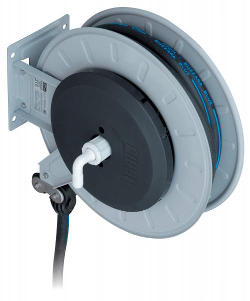 Schlauchaufroller aus Stahlblech mit 8 m Schlauch ø 19 mm für Wasser / AdBlue®