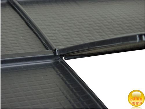 Beispiel für R1-Dichtflächenelemte – zur Aufstellung von KT-Heizöltanks