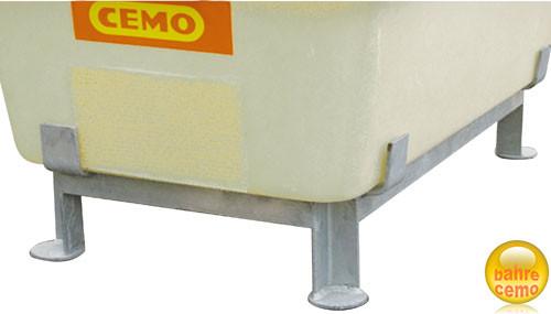 Beispiel Stahlfußgestell für Wasserbehälter