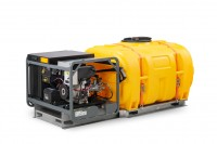 Mobiles Reinigungs- und Unkrautbekämpfungssystem MCS 1000 HD von Cemo