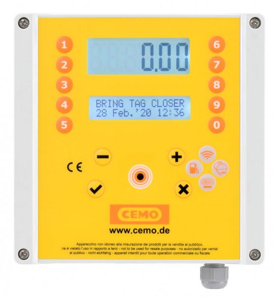 Zähler mit Zugangskontrolle und Tankdatenverwaltungssystem CMO20 SIM für Diesel 230 Volt