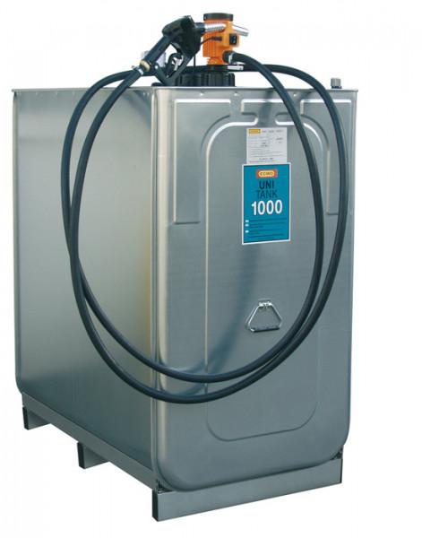 Beispiel Dieseltankanlage mit UNI-Tank 1000 Liter