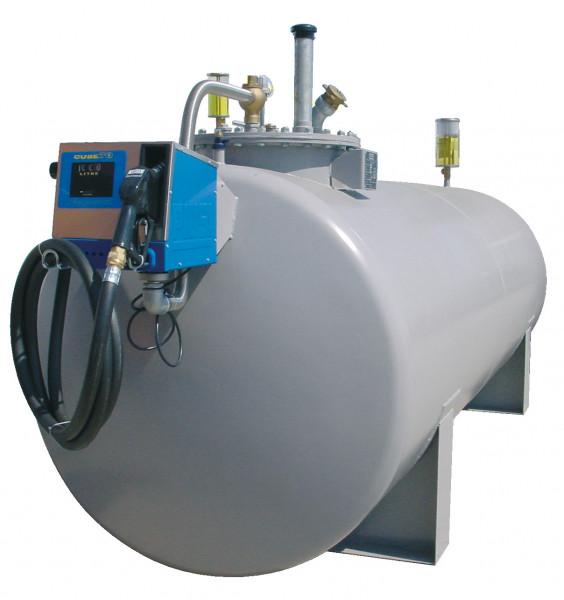 Beispiel Stahltank mit Elektropumpe CUBE 70 MC50