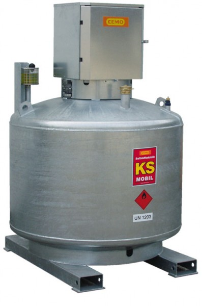 KS-MOBIL doppelwandig mit Pumpenschrank
