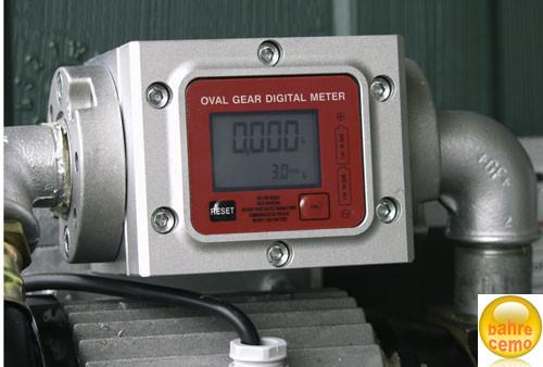 Beispiel eingebautes elektronisches Zählwerk K 600 /3