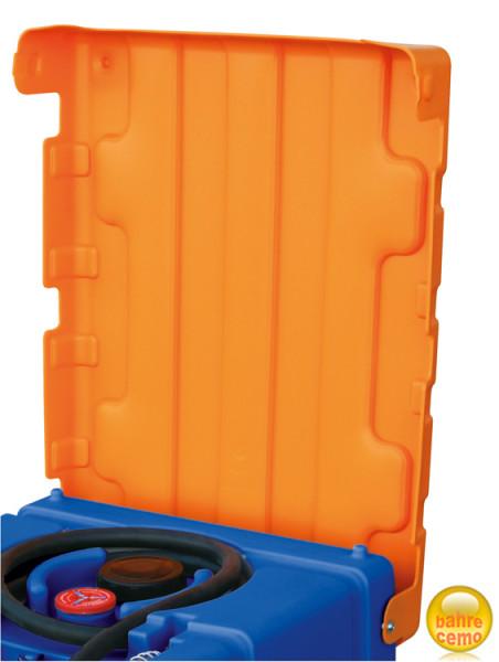 Beispiel Klappdeckel für Blue-Mobil Easy 125 und 200 Liter, offen