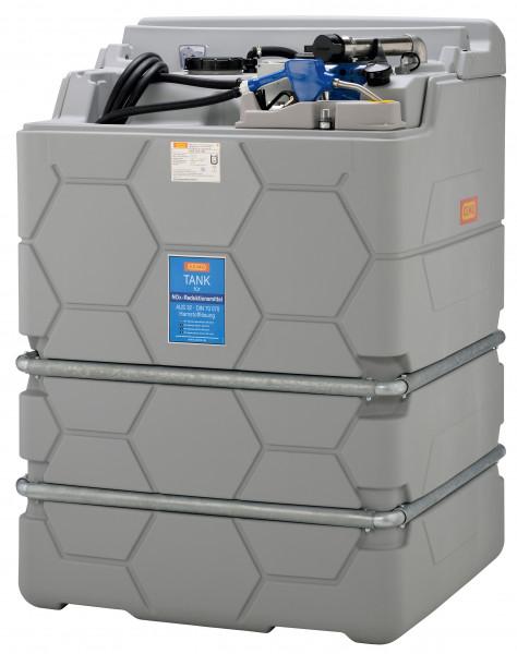 Indoor Basic AdBlue®-CUBE-Tank 1500 Liter komplett mit Pumpe montiert