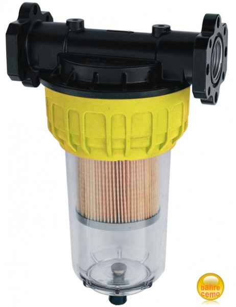Partikelfilter mit Reinigungsventil für Dieselpumpen
