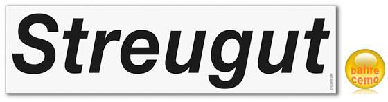 Beispiel Aufkleber für Streugutbox