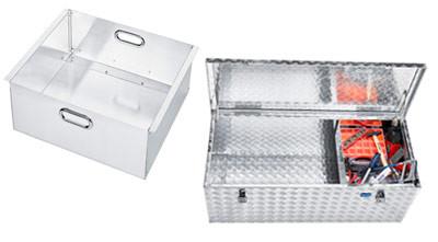 Einhängekorb aus Alublech geeignet für Aluminiumbox EXTREME 250 bis 470