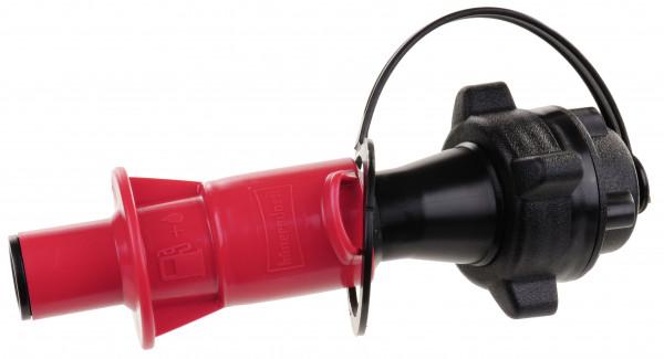 Sicherheitsbefüllsystem rot für Kanister mit 5 oder 10 Liter und ExO-Kanister