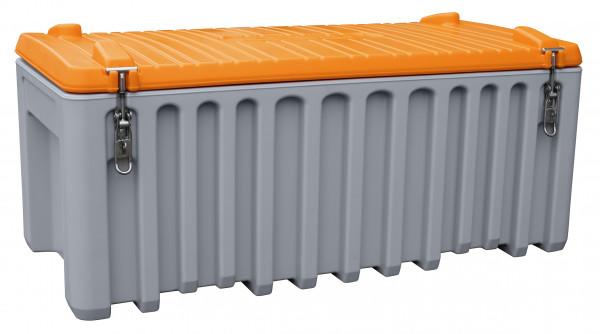 CEMboxen 250 Liter grau-orange