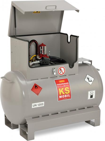 Benzintankanlage KS-Mobil 300 Liter mit Elektropumpe