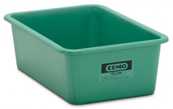 Rechteckbehälter aus GFK 100 Liter grün