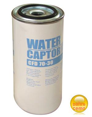Filter mit Wasserabscheider, max. 70 l/min.