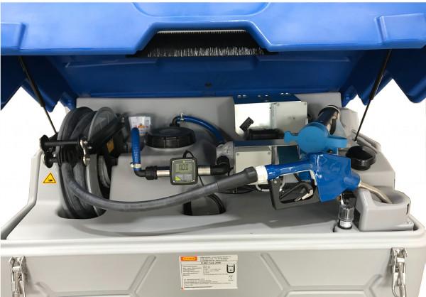 Outdoor-Premium AdBlue®-CUBE-Tank 1500 Liter zum Anschluss an externen Tankautomat