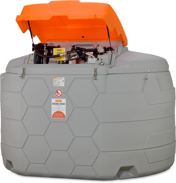 Dieseltankanlage CUBE-Tank 5000 Liter Outdoor Premium Plus mit Tankdatenverwaltungssystem CMO10 SIM