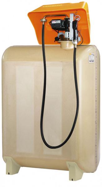 Beispiel GT-Diesertankstation komplett mit Pumpenhaube