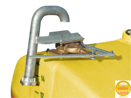 C-Füllanschluss komplett mit Schieber, für Fässer