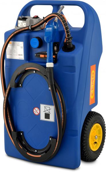 Trolley für AdBlue® (AUS32) Pumpe CENTRI SP30 und Akkusystem – Inhalt 100 Liter